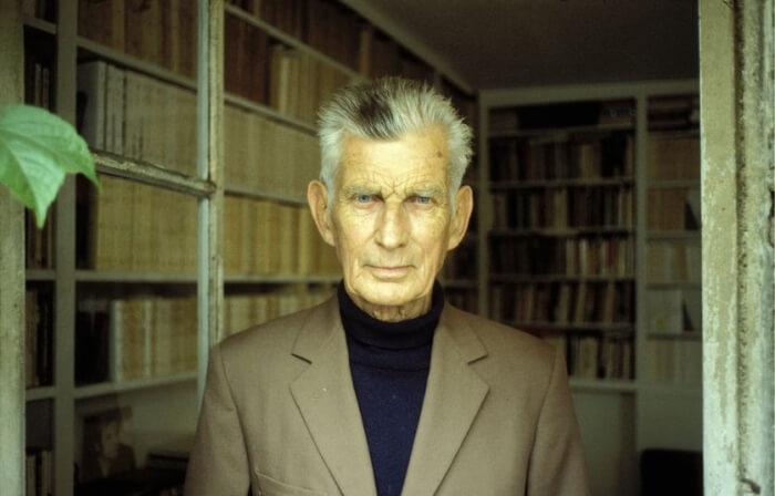 Photographie de Samuel Beckett